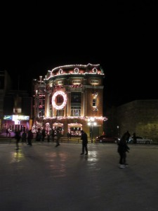 Ice Skating in Quebéc City!